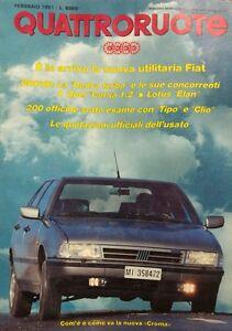 QUATTRORUOTE-FEBBRAIO-1991