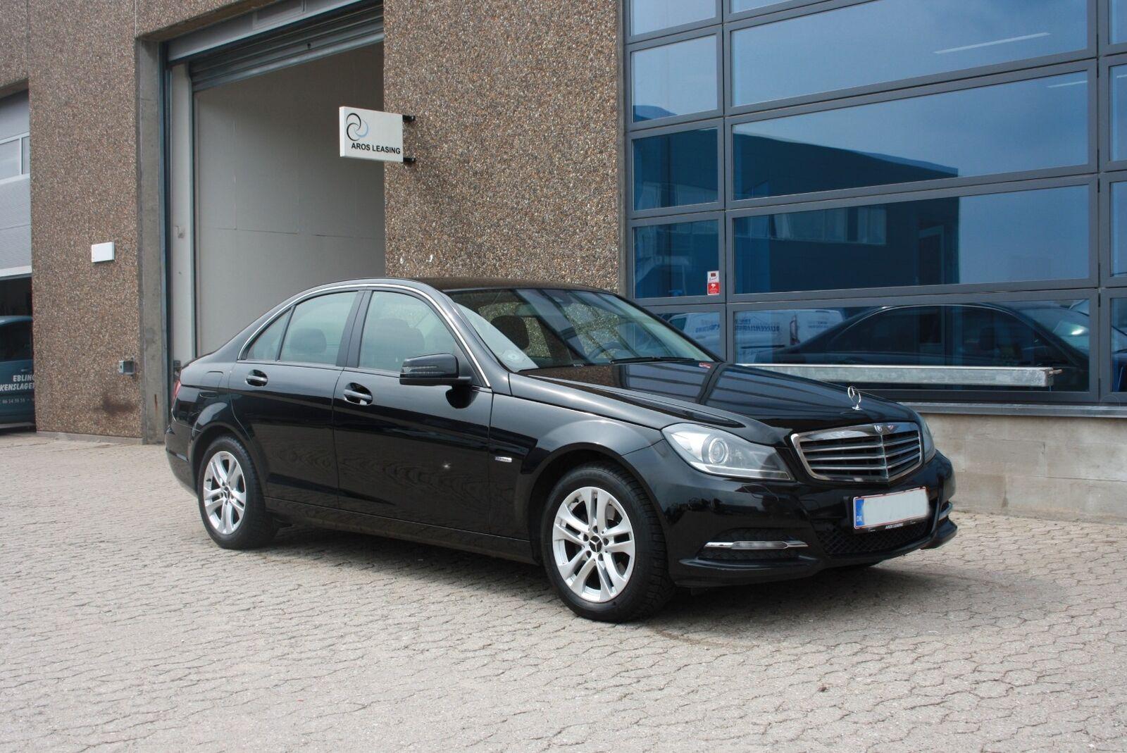 Mercedes C200 2,2 CDi aut. BE 4d - 1.850 kr.