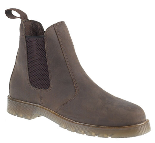 Mens New Waxy Leather Chelsea Dealer Boots Uk  6 - 13