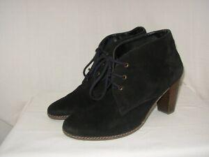 IXOO Bottines Boots Femme P.40 (39/40) Daim noir