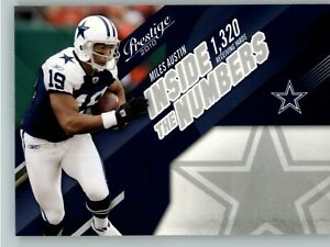 2010 Playoff Prestige Inside the Numbers #2 Miles Austin - Dallas Cowboys