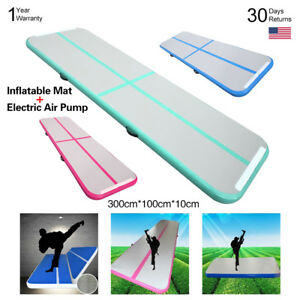 Inflatable-Airtrack-Pad-Gym-Air-Track-Floor-Home-Gymnastic-Tumbling-Yoga-Mat-BMG