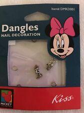 Kiss Mickey Unlimited Minnie Mouse & Daisy Duck Dangles Nail Decoration DMKD001