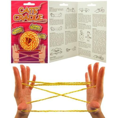 Traditional Cats Cradle Fun Retro Childhood Game Party Favour Loot Bag Filler