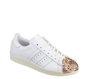 0aaf6c90c La imagen se está cargando Adidas-Superstar-Mujer-Anos-80-Zapatillas- Deportivas-Numero-