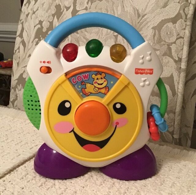 Fisher Laugh Learn Nursery Rhymes Cd Player H6319