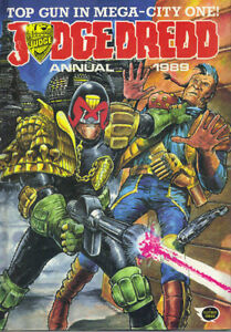 JUDGE-DREDD-ANNUAL-1989-FLEETWAY-1988-NOT-PRICE-CLIPPED-VERY-GOOD-COND