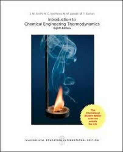 introduction to chemical engineering thermodynamics 8th edition solutions manual pdf