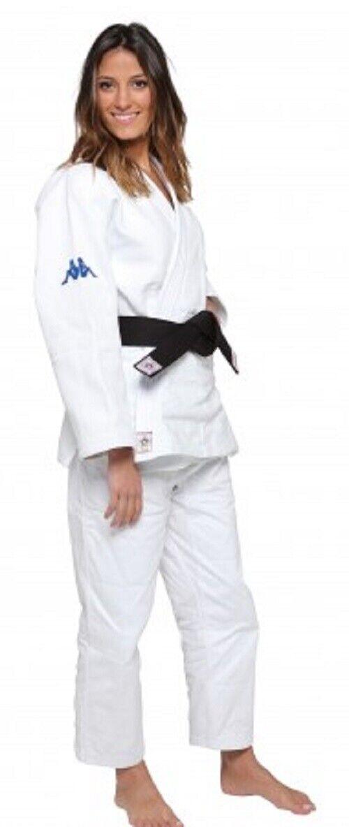 Judogi Modello Atlanta EJUIJF bianca Kappa  KP30240A0901