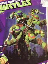 Item 8 TMNT Nickelodeon Teenage Mutant Ninja Turtles Fabric Shower Curtain 70x72 NEW