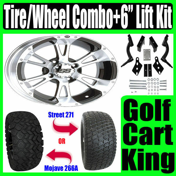 Club Car Precedent Wheel Tire Combo Golf Cart Lift Kit For Sale