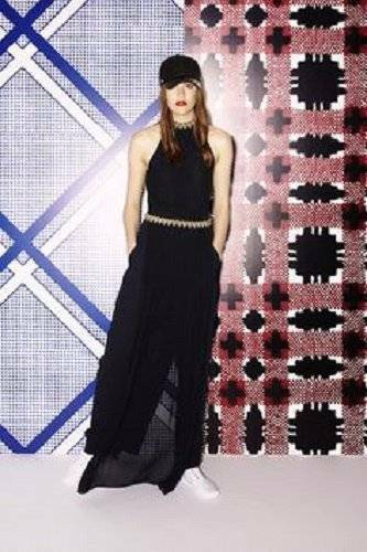 Nuevo con etiquetas SASS & BIDE   como parece  Maxi Vestido Mini súperposición de panel-Talla 6 -  850  los nuevos estilos calientes
