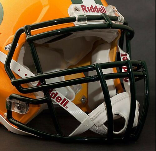 CLAY MATTHEWS GREEN BAY PACKERS Riddell Speed S2BDC-SP Football Helmet FACEMASK