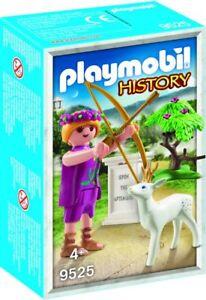 Playmobil-History-Artemis-griechischer-Gott-9525-Neu-amp-OVP-Sonderfigur-MISB-PCC