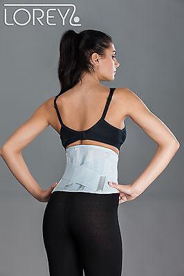 Rückenbandage, Rückenstütze, Rückengurt aus elastischem Netzgewebe