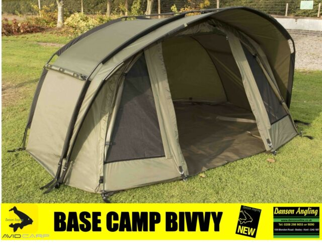 "Avid Carp Base Camp 1 Man Bivvy ""NEW 2016"" Avid Carp Fishing 1 Man Bivvy"