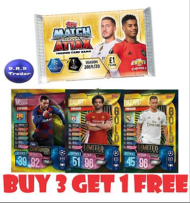 Match Attax 19//20 Raro rashford Plata Limited Edition LE9S-como Nuevo