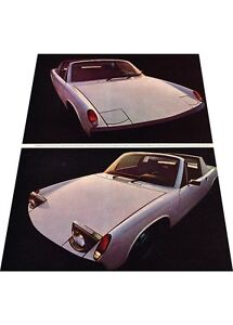 1970-Porsche-914-914-6-2-page-Vintage-Advertisement-Car-Print-Ad-J408