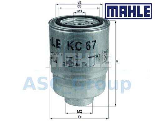 Motor de repuesto Original Mahle Atornillable Filtro de combustible KC 67