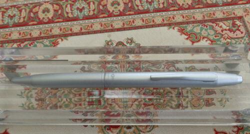 Rotring Side Knock Kugelschreiber Farbe matt silber