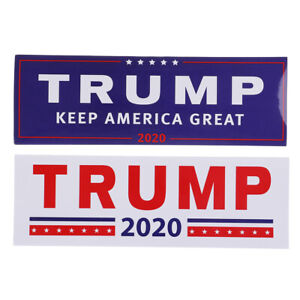 10PCS-Donald-Trump-For-President-2020-Bumper-Sticker-Keep-Make-America-Great
