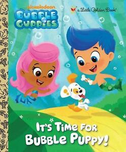 Little-Golden-Book-Its-Time-for-Bubble-Puppy-by-Golden-Books-Staff-2012-Hardcover-Golden-Books-Staff