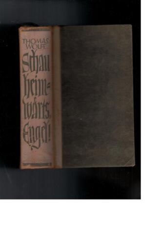 1 von 1 - Thomas Wolfe - Schau heimwärts, Engel !