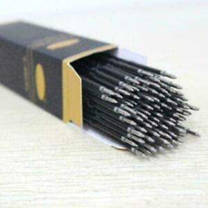 100X-Kugelschreibermine-Ersatz-Blau-Schulbuero-Schreibwaren-Gift-X6U0-S2C0-Q8X4