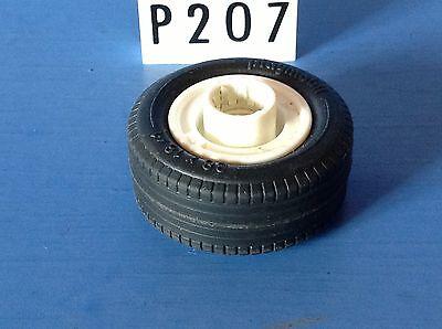 1 P207.2 playmobil piéce vehicule roue diamètre 38 x 18