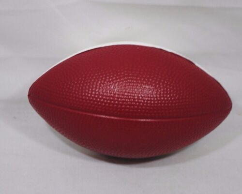 "Pepper Established 1885 Toy Foam Collectible Football 3/"" x 5/"" NEW Small Dr"