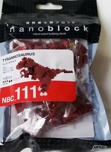 Red Panda Nanoblock Miniature Building Blocks New Sealed Pk NBC 194