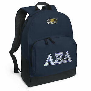 Alpha Xi Backpack BEST QUALITY UNIQUE AXiD Sorority BACKPACKS SCHOOL ... 5bf7e996a5