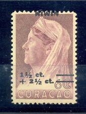 CURACAO # 182 VARIETEIT = SHIFTED OVERPRINT =  **  MNH  VF  @15