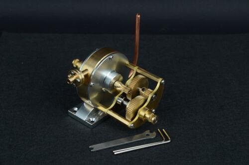 Live Steam Turbine Engine Multi-stage reduction group JT-B