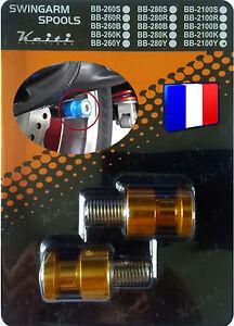 2 Diabolo Bequille Jaune 650 F N Gpz 500 900 1100 S H2 Haut Niveau De Qualité Et D'HygièNe