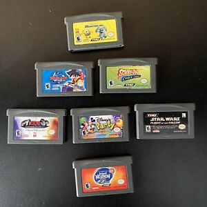 7-Game-GBA-Lot-Star-Wars-Flight-of-the-Falcon-Nintendo-GAMEBOY-ADVANCE-KIDS-more