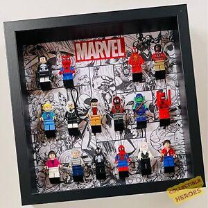 Display Case Frame for Lego Marvel general minifigures 27cm