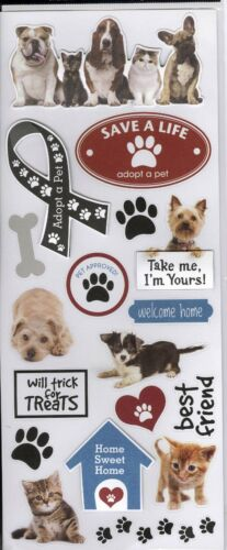 Adopt a Pet Stickers Me /& My Big Ideas