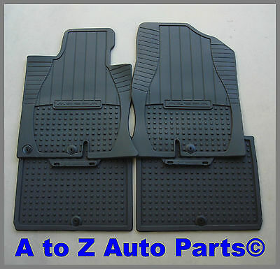 NEW 2012-2015 Hyundai Veloster or Turbo FRONT /& REAR ALL WEATHER Floor Mats,OEM