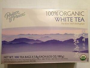 Image Is Loading Prince Of Peace Organic White Tea 100