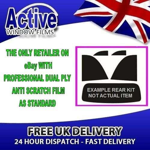 SEAT LEON 5D HB 00-05 20/% REAR PRE CUT CAR WINDOW TINT KIT AUTO FILM
