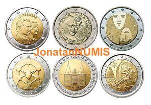 TODAS-LAS-MONEDA-DE-2-EUROS-CONMEMORATIVAS-DE-2006-UNC-SIN-CIRCULAR