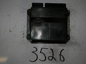 2006-2007-06-07-YARIS-AT-COMPUTER-BRAIN-ENGINE-CONTROL-ECU-ECM-MODULE-UNIT
