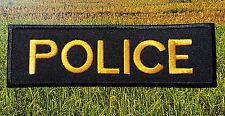 Ecusson Patch brodé thermocollant Police