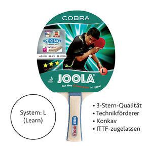 JOOLA-Cobra-Tischtennis-Schlaeger-konkaver-Griff-Bat-Holz-Kelle-TT