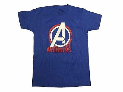 Avengers Logo Marvel Comics Officially Licensed Graphic T Shirt