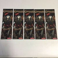 Lot Of 5 Castlevania: Curse Of Darkness E3 Promo Bookmarks Ps2 Xbox Playstation