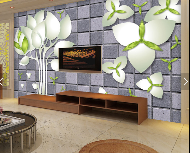 3D Weiß Flowers 689 Wall Paper Wall Print Decal Deco Indoor Wall Mural CA