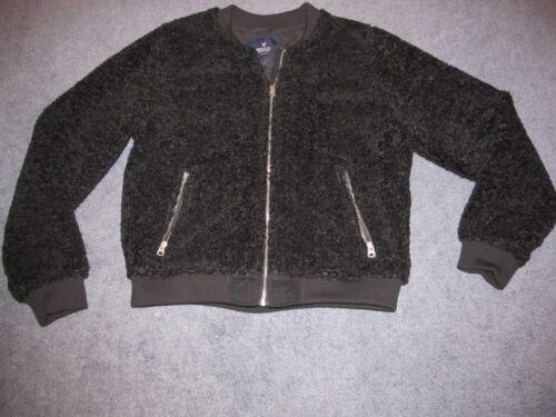 Soft Nwt Eagle Xxl Jacket Furry Black Bomber American 00xr5zA