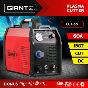 Giantz 60 Amp Inverter Welder Plasma Cutter Gas DC iGBT Welding Machine Portable